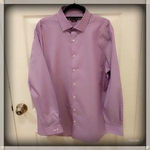 Kenneth Cole Reaction Dress Shirt - Purple